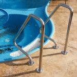 INOX Стълба за басейн